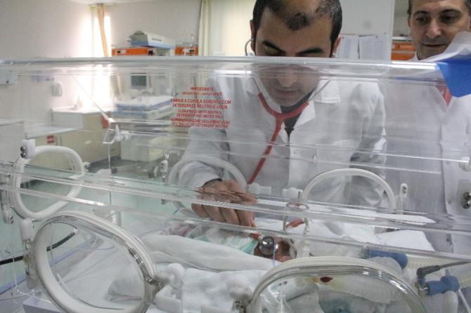 Mersin'de altız bebek mutluluğu