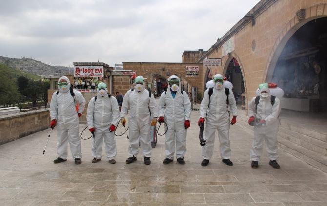 Eyyübiye dezenfekte çalışmaları