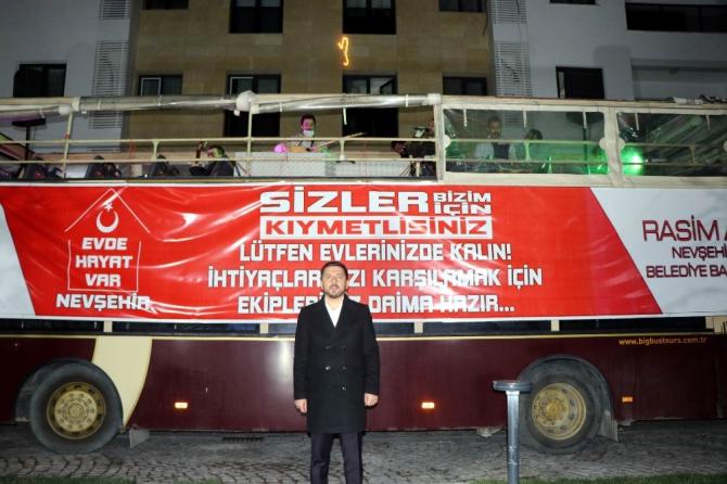 """Nevşehir'de """"Korona Konserleri"""" başladı"""