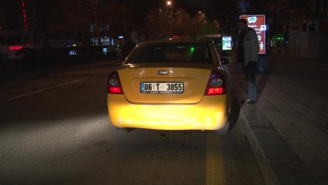 Başkent'te taksiciler Bakanlığın genelgesine uydu