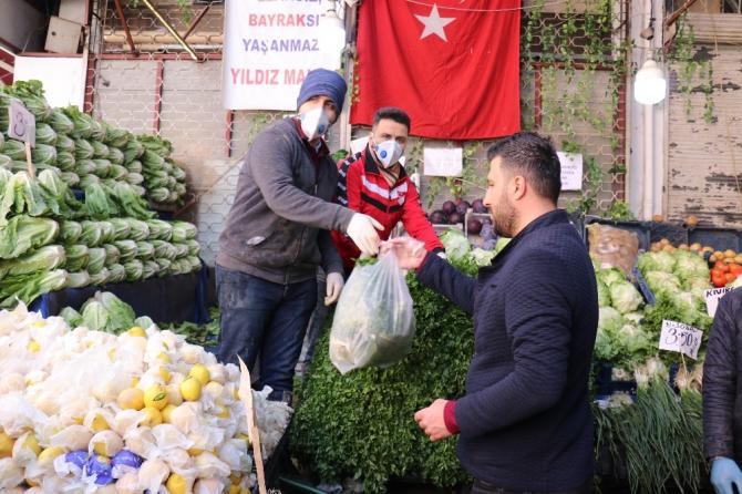 Malatya'da pazar yerlerinde ek tedbirler