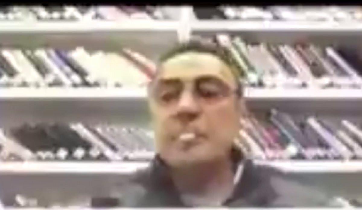 Haber Global ekranlarında şok! Berhan Şimşek canlı yayında sigara yaktı