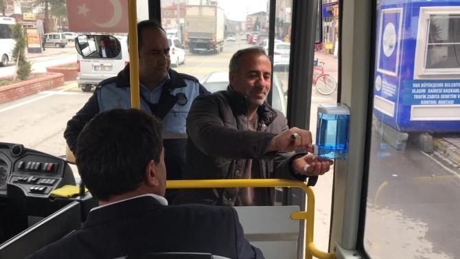 Erciş Belediyesinden korona virüsü tedbirleri