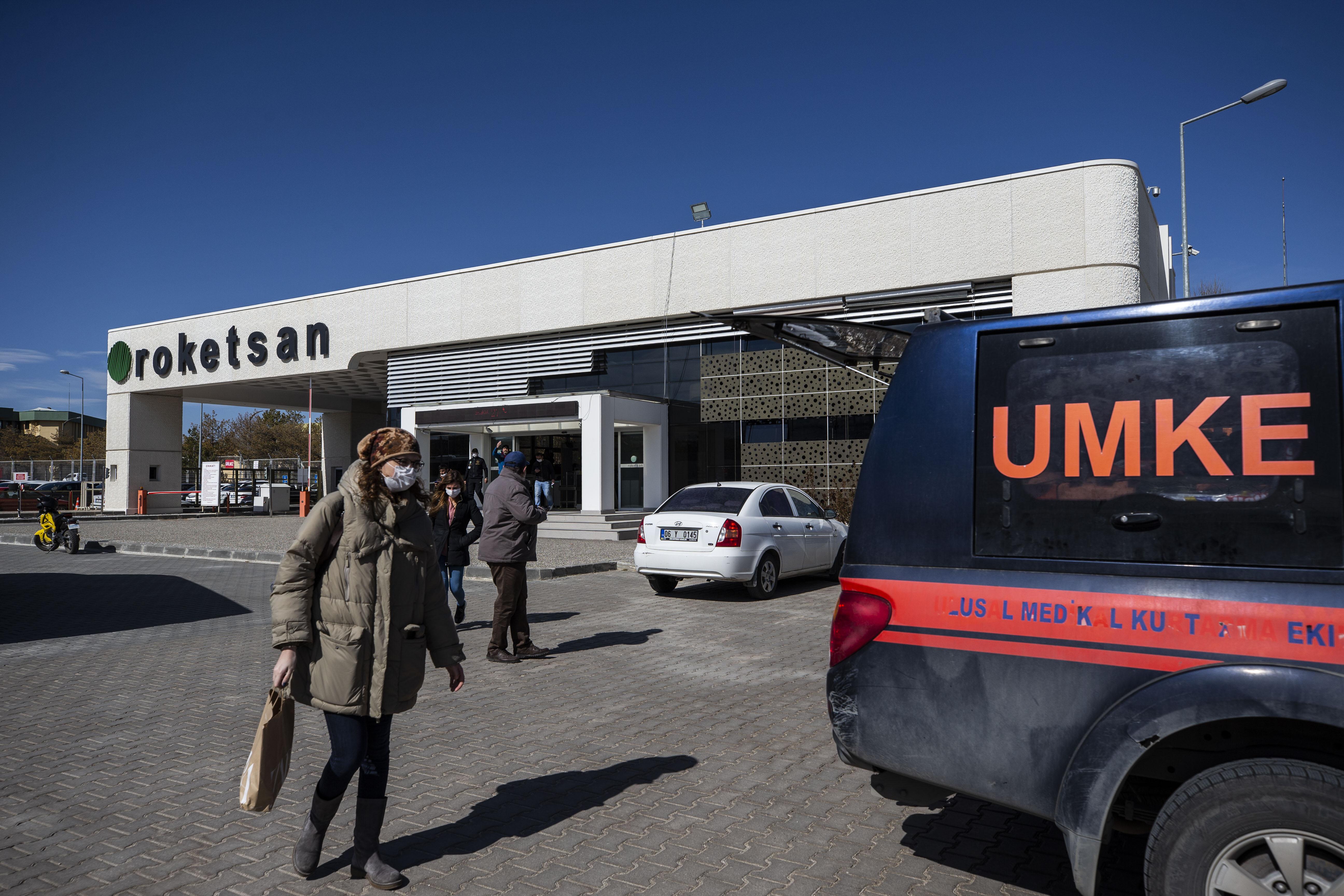 Ankara'daki Roketsan fabrikasında patlama: 3 yaralı