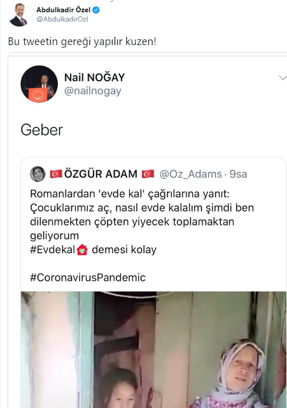 Nail Noğay kimdir? Twitter'da 'geber' diyen Nail Noğay kaç yaşında? Nereli?