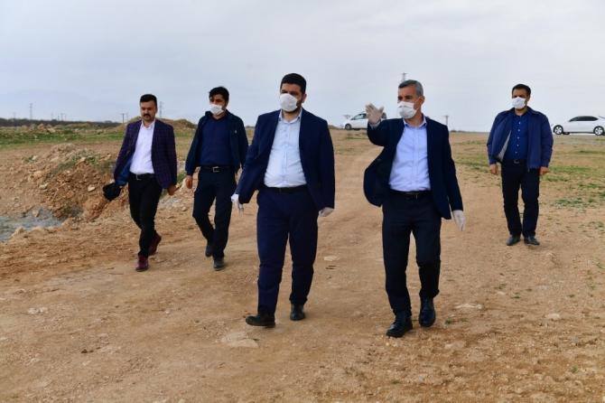 Başkan Çınar, çevre yolu güzergahında inceleme yaptı