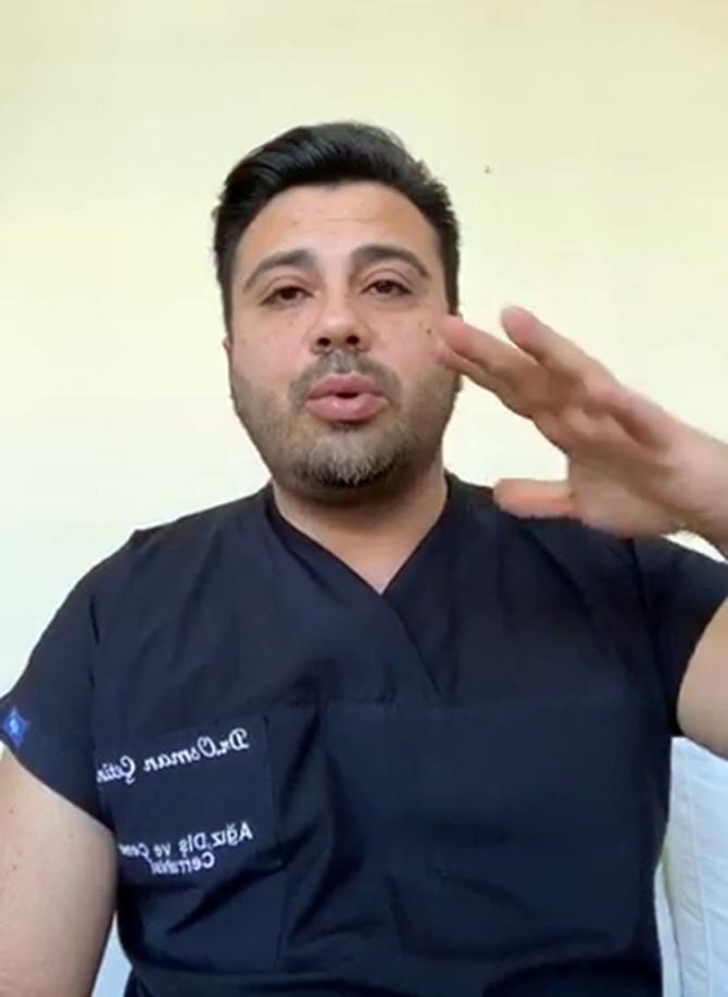 Dr. Osman Çetin'den korona virüse karşı hijyen uyarısı