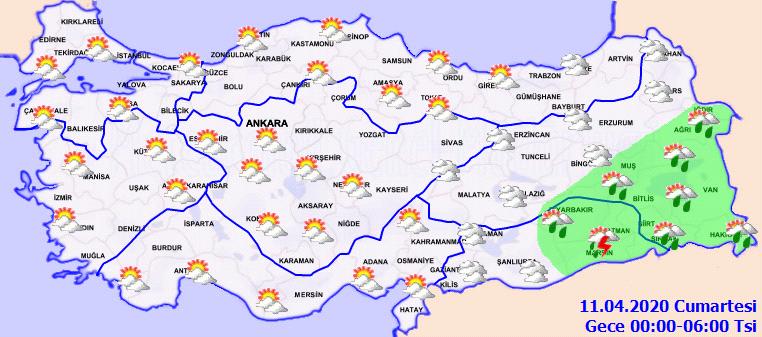 Meteoroloji açıkladı! Bugün (10 Nisan Cuma) hava durumu nasıl olacak?