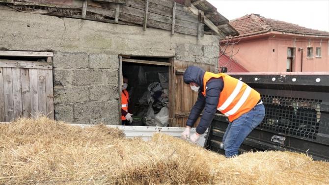 Başiskele Belediyesi 65 yaş üstü vatandaşın saman talebini karşıladı