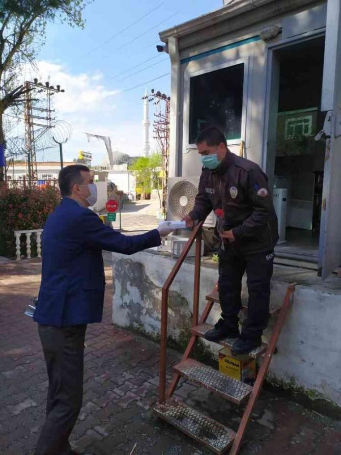 Kaymakam Arslan polislerin haftasını kutları