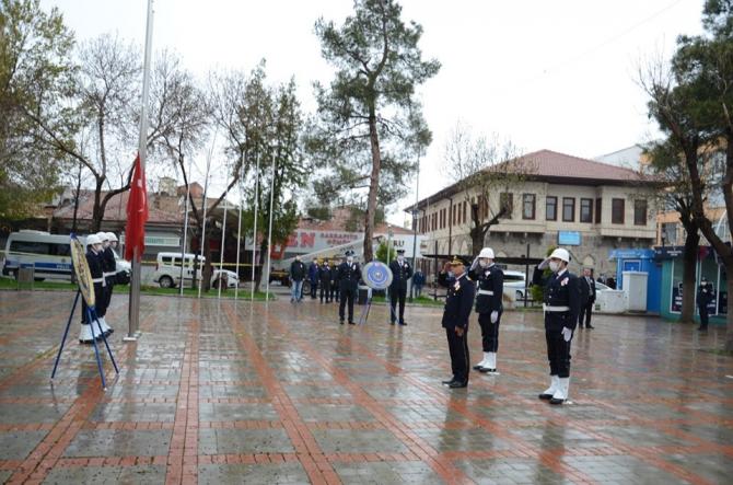 Karaman'da Polis Teşkilatının Kuruluş Yıldönümü kutlandı