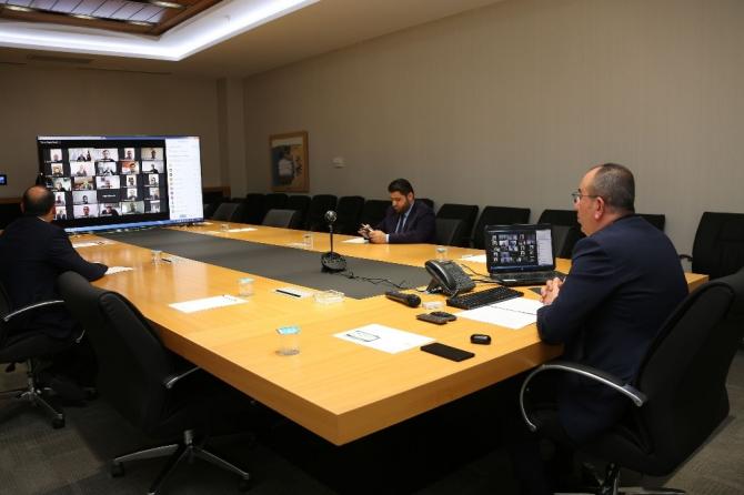 Başkan Kavuş, Korona virüs tedbirlerini video konferansla meclis üyelerine anlattı