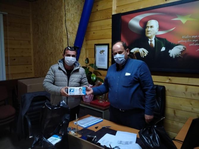 Sinop il özel idaresi köylere 5 bin adet maske gönderdi