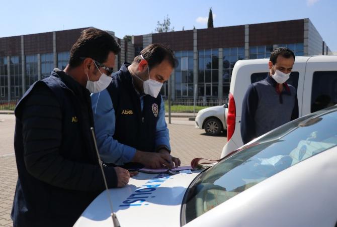 Adana'da sokağa çıkma yasağının ilk cezası kesildi