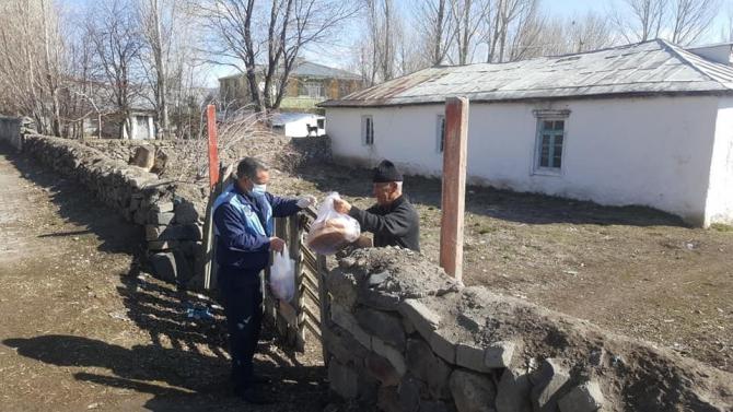 Arpaçay'da vatandaşların ihtiyaçları karşılanıyor
