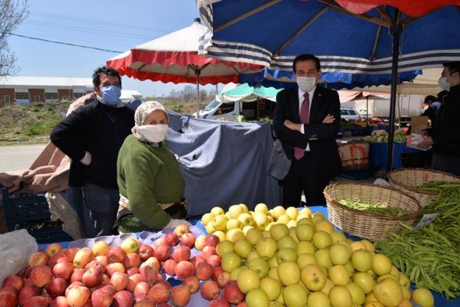 Bolu Valisi Ahmet Ümit, korona virüs tedbirlerini yerinde inceledi