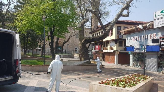 Bursa'da topyekün temizlik seferberliği
