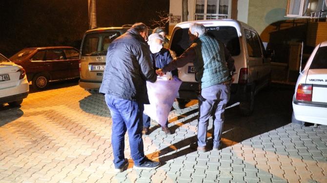 Kırşehir'de 12 dairelik apartmanda karantina uygulaması