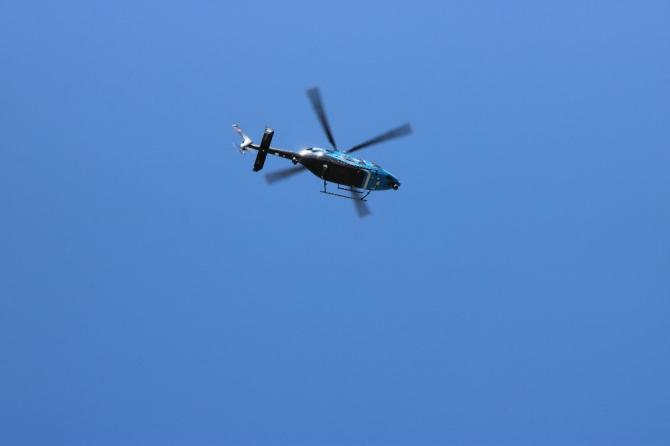 Diyarbakır'da sokağa çıkma yasağı helikopterle denetlendi