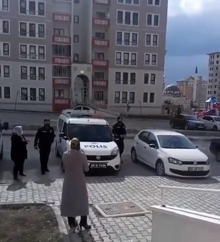 Erzurumlu kadınlardan polise duygusal ihbar