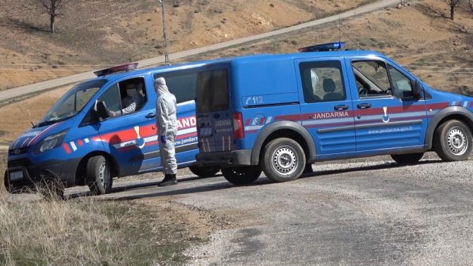 Kırıkkale'nin Dağsolaklı köyüne giriş ve çıkışlar durduruldu