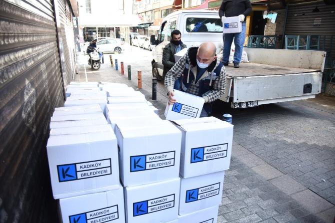 Kadıköy Belediyesi'nden esnaf derneklerine destek