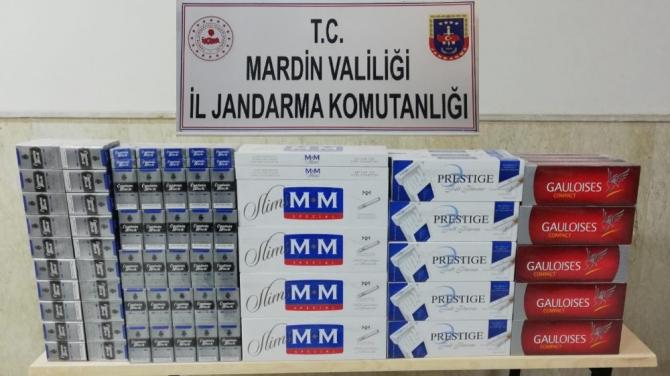 Mardin'de 2 bin 440 paket kaçak sigara ele geçirildi