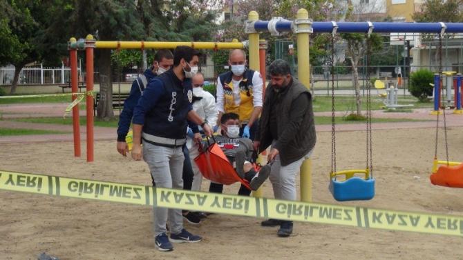 Bebeğini rehin alan vicdansız baba tutuklandı