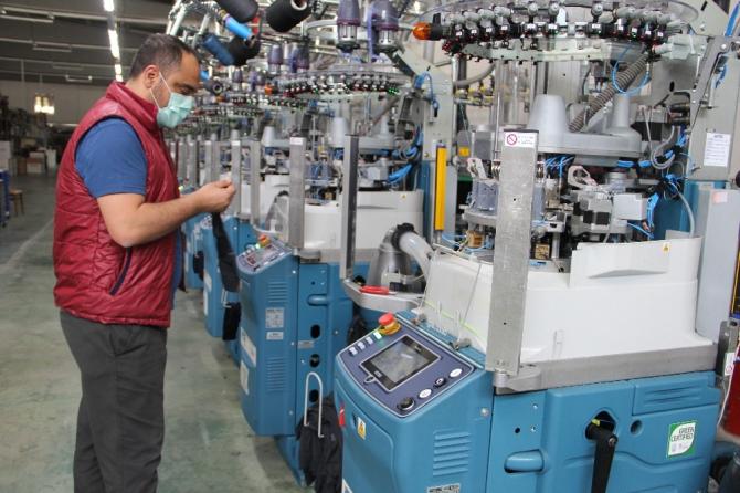 Diyarbakır'da korona virüse rağmen üretim sürüyor