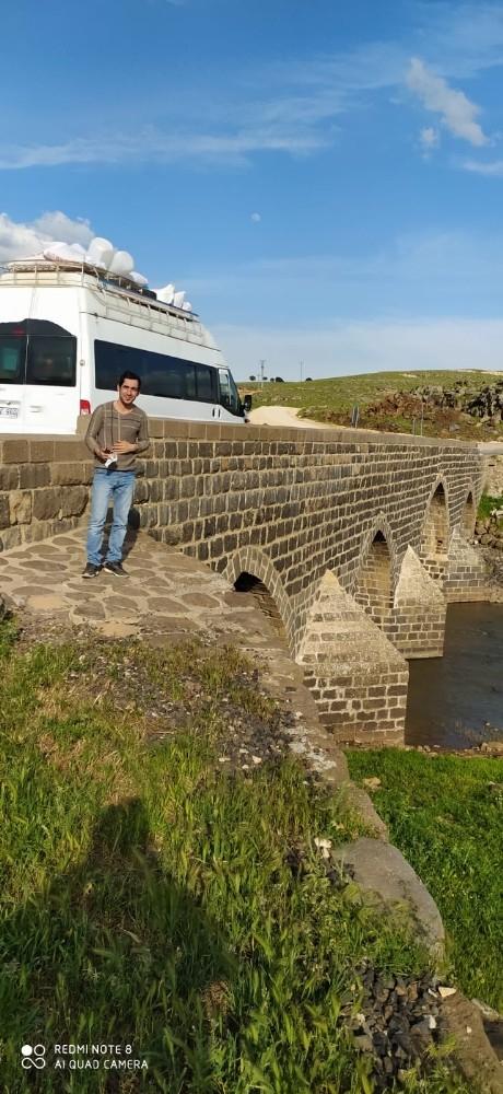 Tarihi Dilaver Köprüsü onarılmayı bekliyor