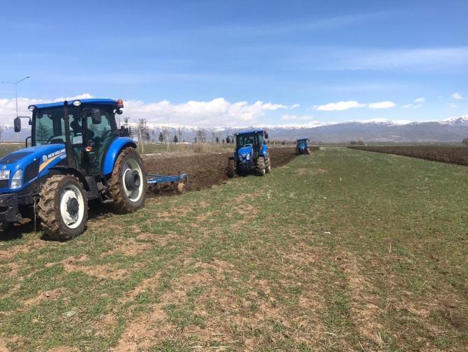 Erzurum'da tarımsal üretim seferberliği devam ediyor