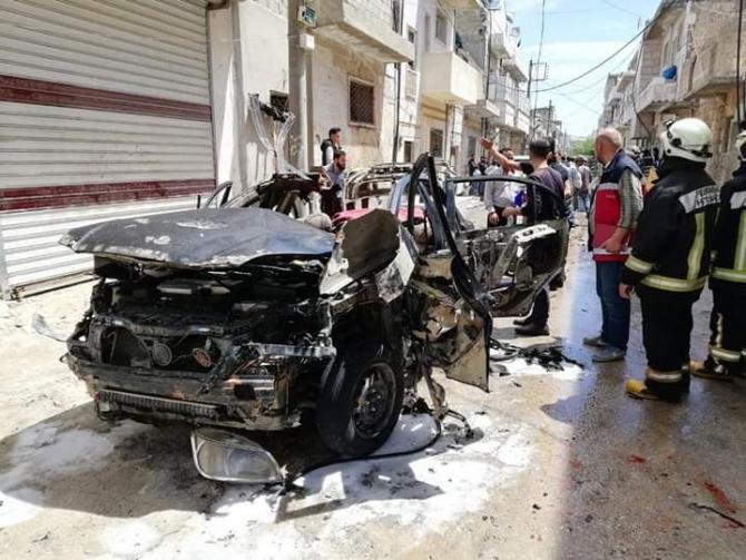 El Bab'da bombalı saldırı: 1 ölü