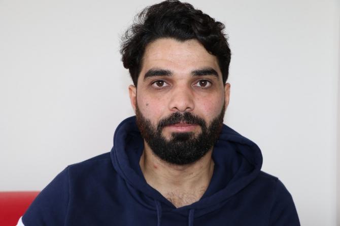 Suriyeli Muhammed plazma bağışçısı olaca