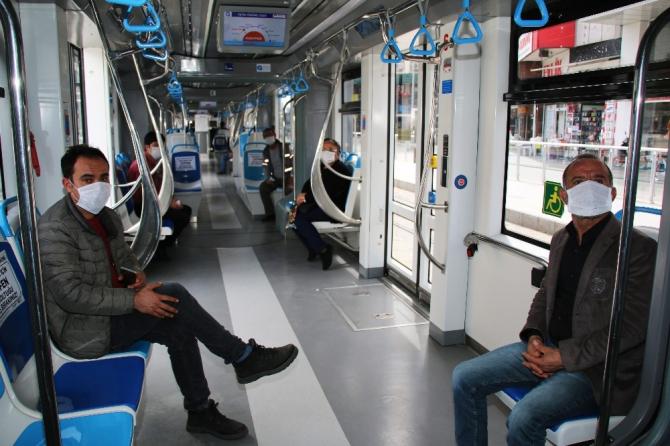 Mart ve Nisan ayında 11 milyon vatandaş toplu taşıma kullanmadı