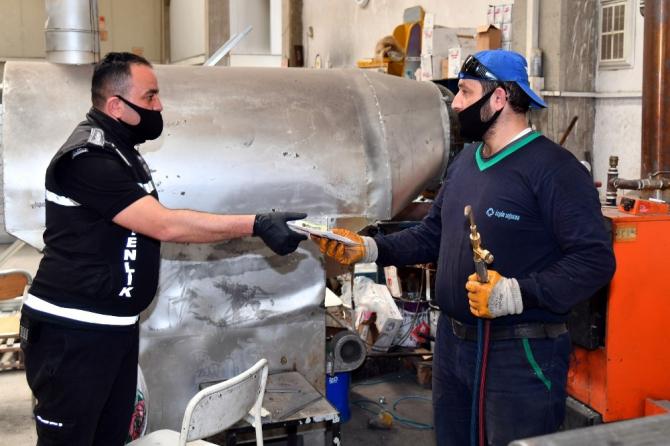 Isparta'da 22 günde 2 milyon 151 bin maske dağıtıldı
