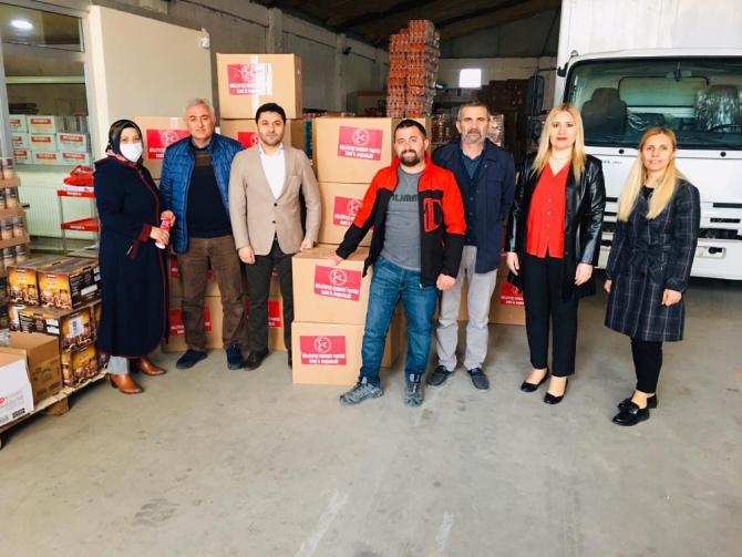 MHP Kars İl Başkanlığı'ndan 200 aileye Ramazan desteği