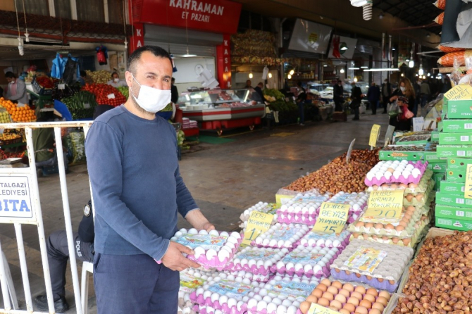 Malatya'da yumurta fiyatlarında artış