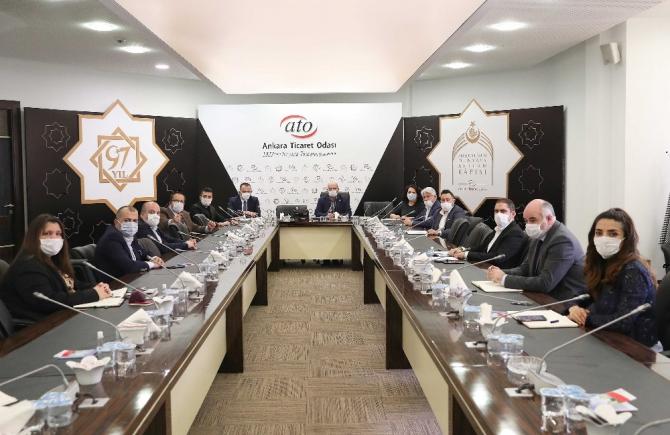 """ATO Başkanı Baran: """"Restoran, lokanta ve kafelerimizin tencerelerinde 'dayanışma' kaynasın"""""""