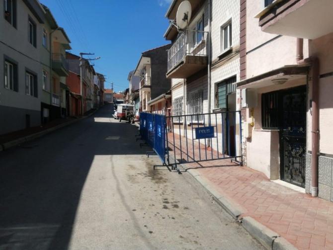 Eskişehir'de bir bina karantina altına alındı