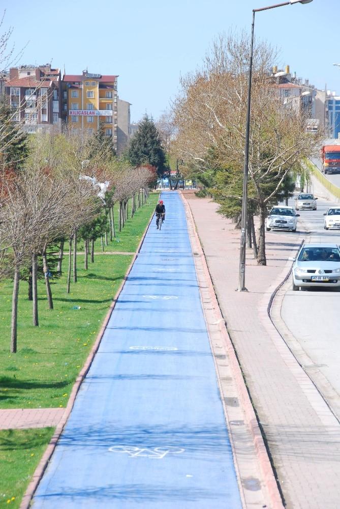 """Başkan Altay: """"Korona virüsten korunmak için en ideal ulaşım aracı bisiklettir"""""""
