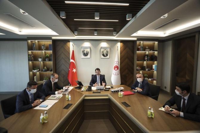 Belediye Başkanı Rasim Arı'nın Ankara temasları