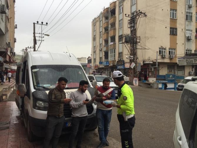 Cizre'de Trafik Haftası etkinlikleri