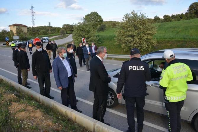 Vali Ömer Toraman Gediz'i ziyaret etti