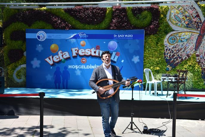 Tuzla'da yapılan ''Türkiye'nin İlk Sosyal Mesafeli Etkinliği'' büyük ses getirdi