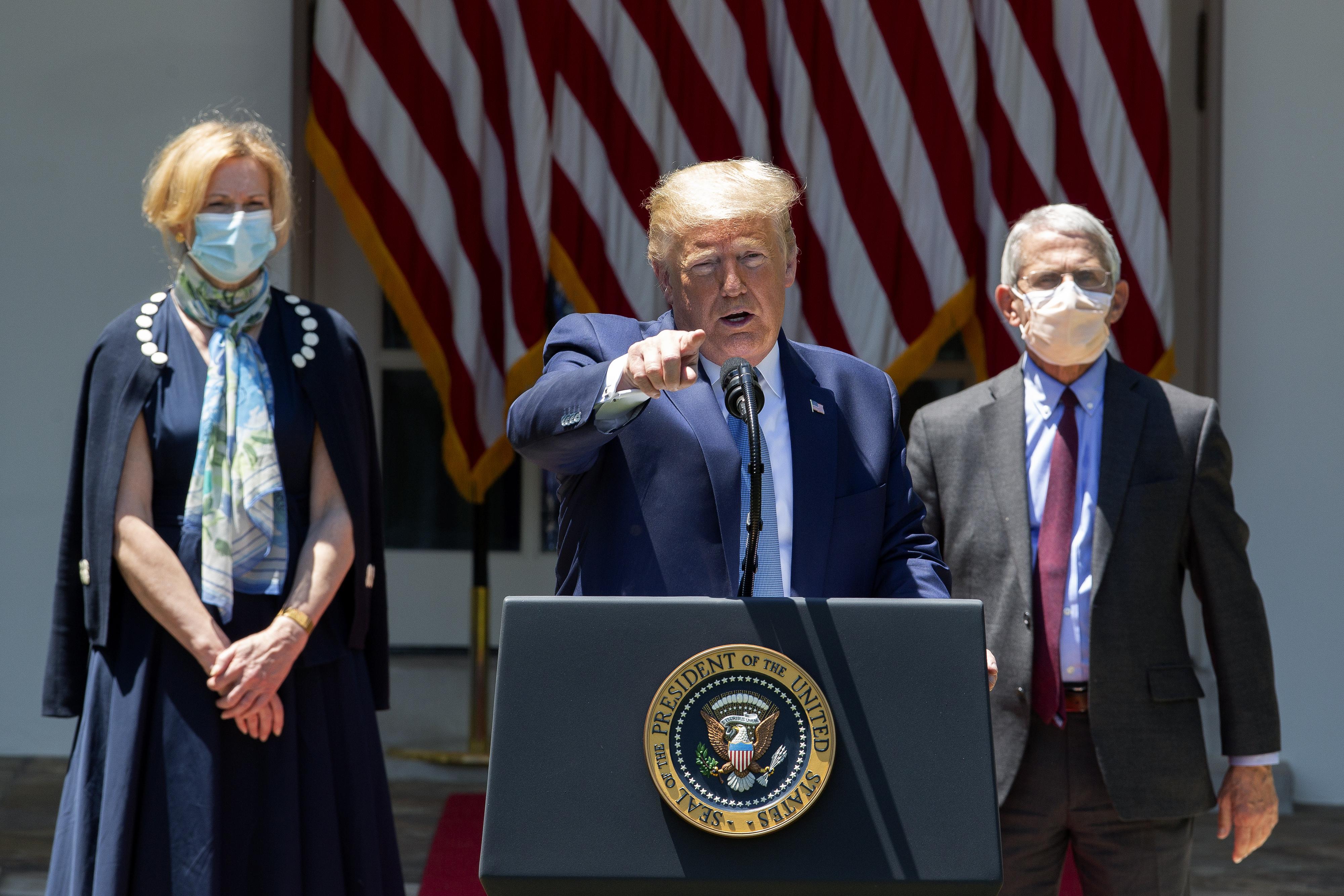 ABD Başkanı Donald Trump'tan koronvirüs aşısı çalışmalarına ilişkin açıklama!