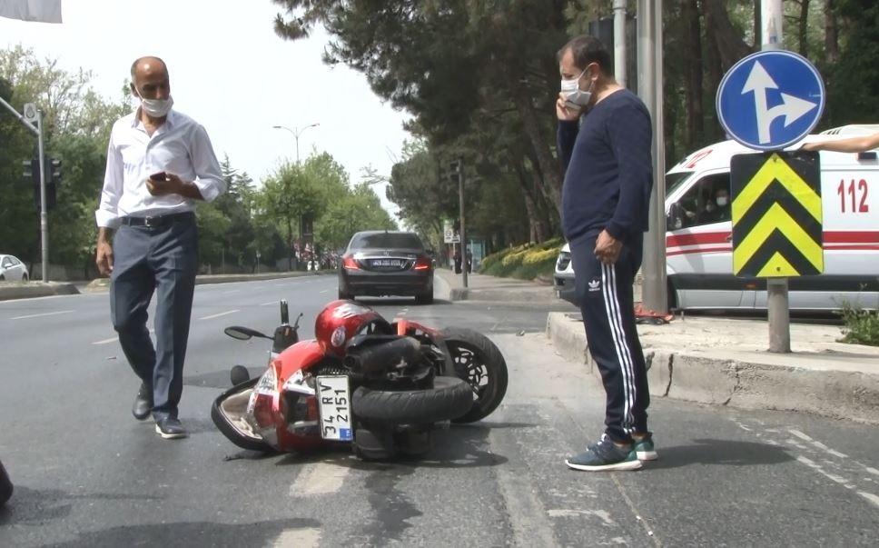 Ünlü çiğ köfteci Ömer Aybak trafik kazası geçirdi