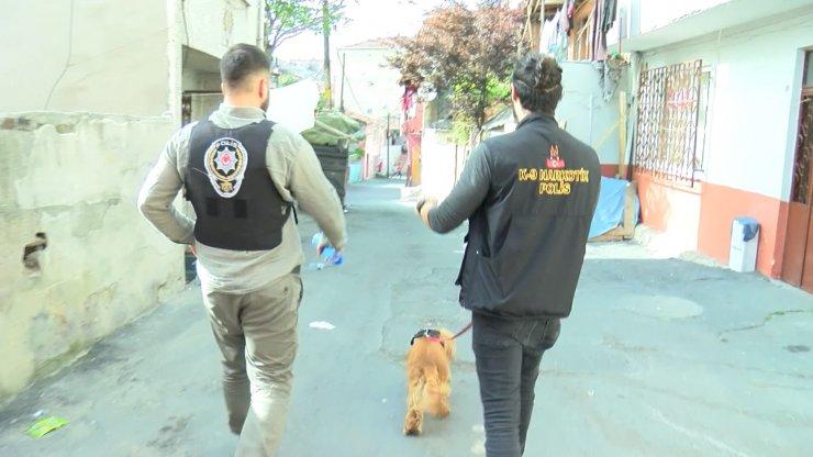 Şişli'de bayram öncesi uyuşturucu operasyonu