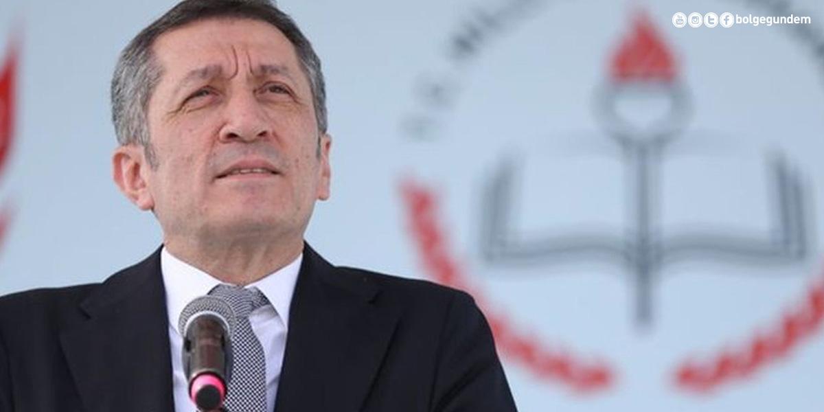 Milli Eğitim Bakanı Ziya Selçuk salgın sonrasında ilk ziyaretini o ile yapacak