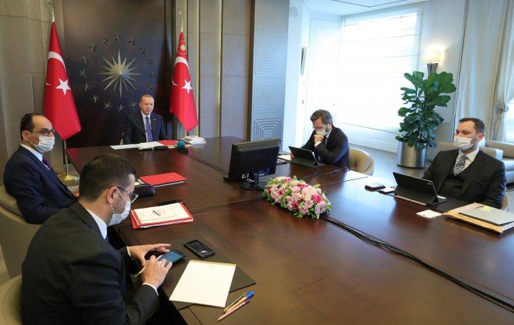 Cumhurbaşkanı Erdoğan: Türkiye'nin yükselişinden duyulan rahatsızlık olduğunu biliyoruz (1)