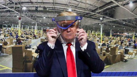 Trump'tan tuhaf maske çıkışı! Keyif yaşatmak istemedim...